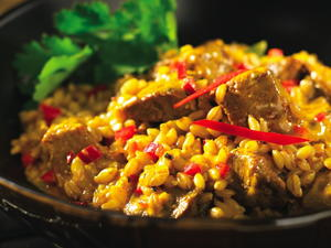 Fragrant Lamb Curry with Barley