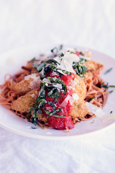 30 Minute Chicken Parmesan Recipe