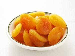 Dried Figs and Apricots in Vanilla Wine Syrup