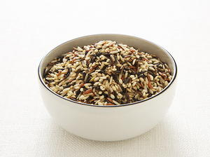 Wild Rice and Smoked Turkey Salad with Dried Cranberries and Toasted Hazelnuts