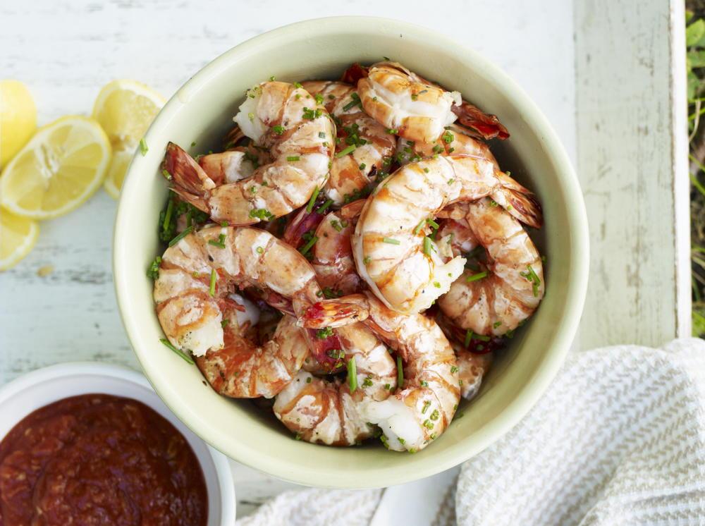Grilled Shrimp Cocktail | Cookstr.com