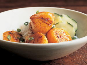 Vietnamese Braised Scallops