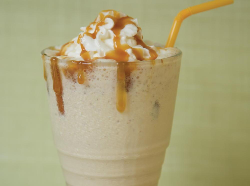 Malted Caramel Shake | Cookstr.com