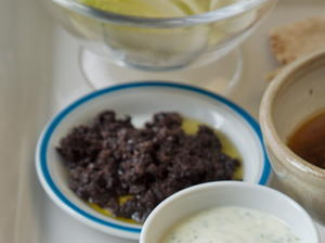 Tapenade and Tapenade Vinaigrette