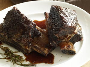 Balsamic-Glazed Short Ribs
