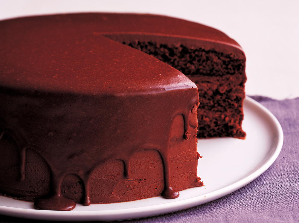 chocolate layer cake recipe layered chocolate mousse cake cookstr 2881