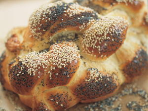 A Six-Strand Braided Challah