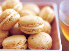 Hazelnut and Orange Macaroons