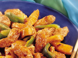 Stir-Fried Chicken with Mango