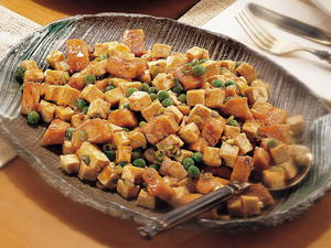 Salmon with Tofu