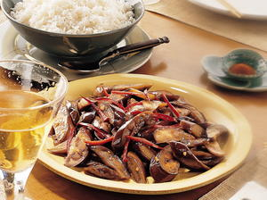 Stir-Fried Asian Eggplant