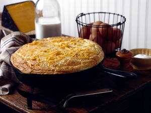 Farmhouse Cheddar Skillet Pie