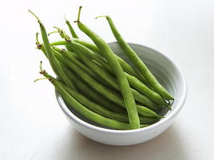 Thin Green Beans with Brown Butter and Roasted Chestnuts