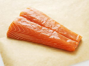 Salmon with Honey-Soy Sauce