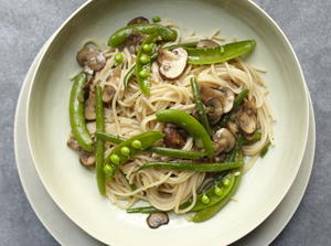 Simple Spring Vegetables With Pasta