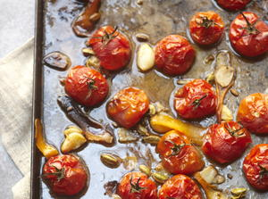 Roasted Cherry Tomatoes With Orange And Cardamom