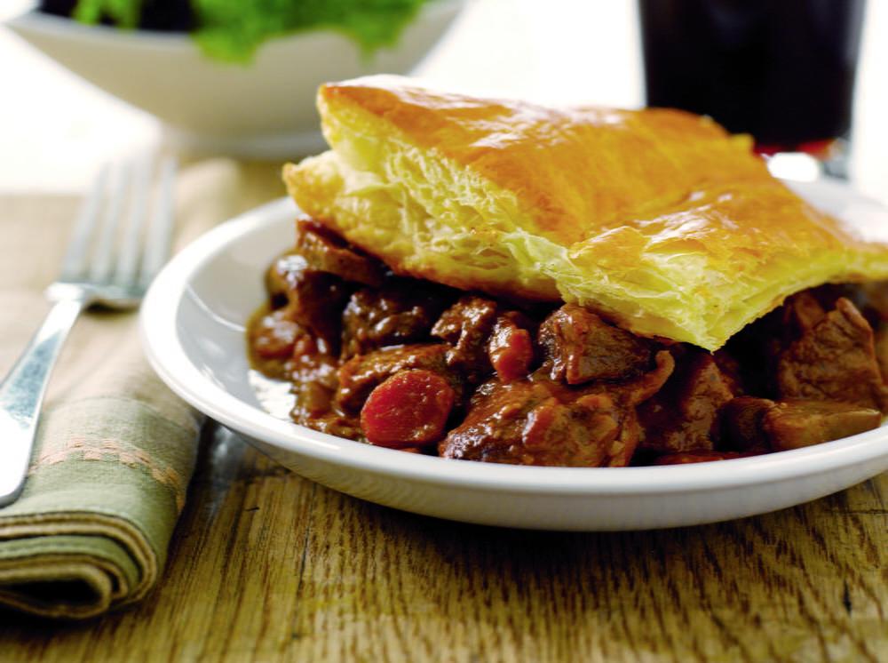 Steak and Guinness Pie | Cookstr.com