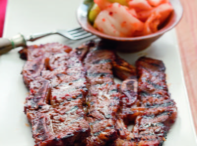 Korean Barbecued Beef Short Ribs