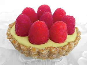 Raspberry Lemon Mousse Tart