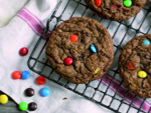 Chocolate Monster Cookies
