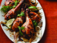 Tandoori-Style Roasted Chicken Legs