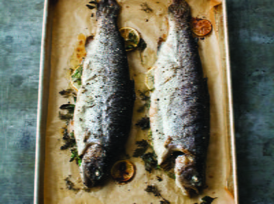Basic Whole Roasted Rainbow Trout
