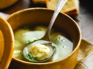 Chicken Soup with Ricotta Dumplings