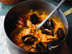 Risotto with Fresh Mussels