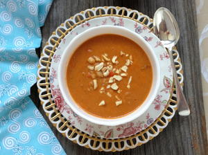 Piping Hot Peanut Butter Soup