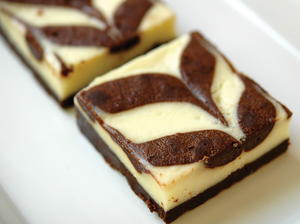 Rafael's Righteous Cream Cheese Brownies