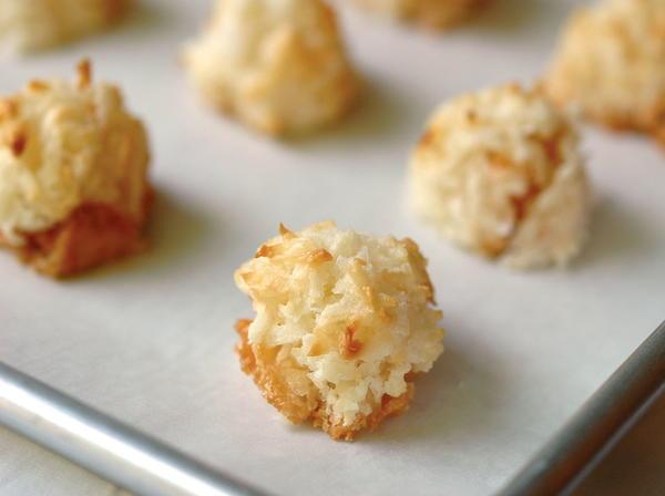 Rafael S Coconut Apricot Macaroons Cookstr Com