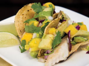 Caribbean Dream Fish Tacos