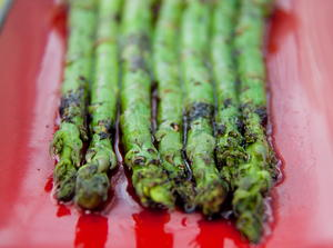 Asparagus with Balsamic Vinegar