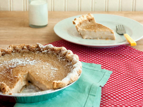 Hoosier Sugar Cream Pie