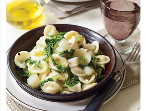 Orecchiette with Potatoes and Arugula