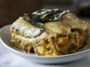 Butternut Squash Whole Wheat Lasagna
