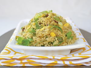 Mediterranean Quinoa with Fresh Herbs