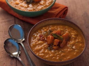 Homestyle Dal with Pumpkin