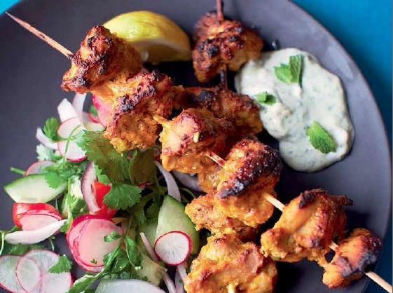 Oven-Roasted Chicken Tikka