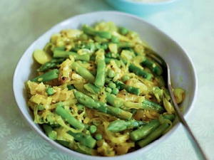 Sauteed Spring Vegetables with Spices