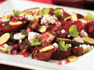 Beet and Feta Cheese Salad