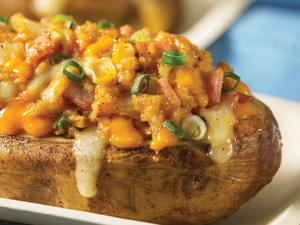 Twice-Baked Jacket Potato