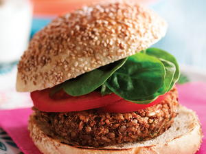 Sunflower Seed and Quinoa Burgers