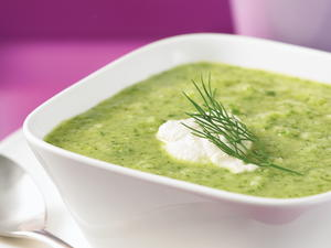 Lemon, Cucumber and Dill Soup