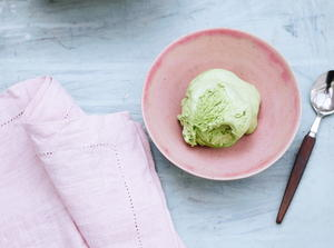 No-Churn Matcha Ice Cream