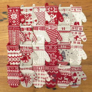 DIY Mittens Homemade Advent Calendar