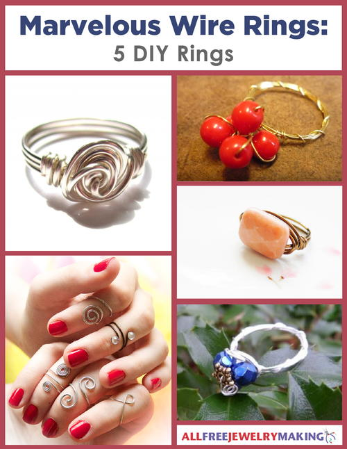 Marvelous Wire Rings 5 DIY Rings