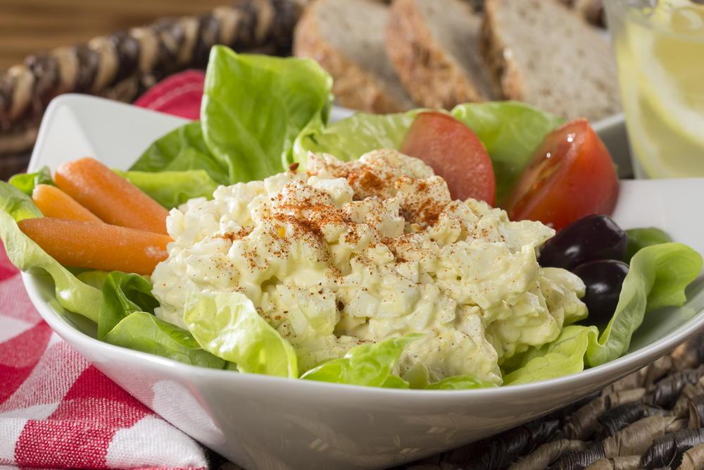 Picnic Egg Salad Mrfood Com