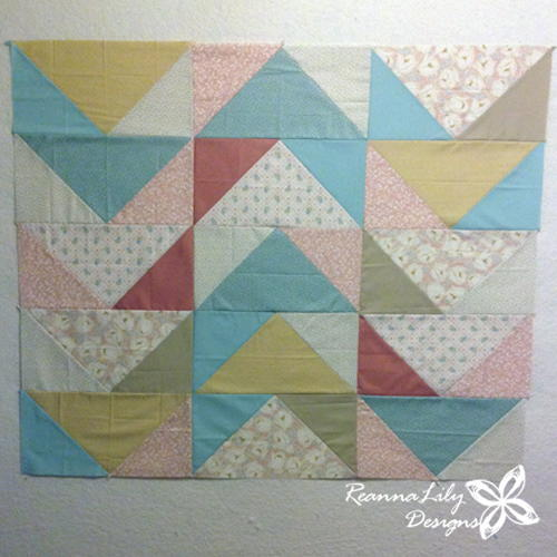 Huge Fat Quarter Flying Geese_1