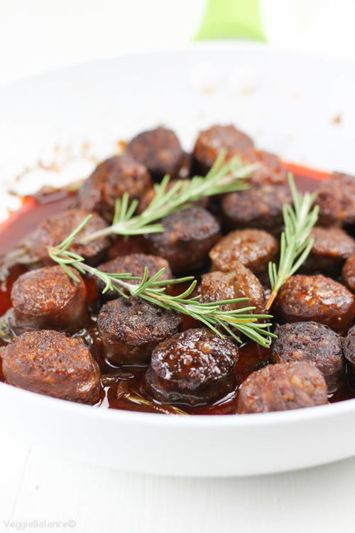 Chorizo in Red Wine with Rosemary